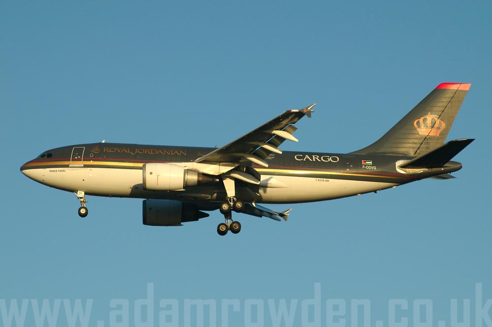 royal jordanian cargo  jfk