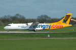 Photo of Aurigny Air Services A�rospatiale ATR-72-202 G-BXTN (cn 483) at London Stansted Airport (STN) on 28th April 2006
