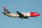 Photo of Norwegian Air Shuttle Boeing 737-3Y0 LN-KKR (cn 24256/1629) at London Stansted Airport (STN) on 25th May 2006