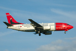 Photo of Norwegian Air Shuttle Boeing 737-3L9 LN-KKT (cn 27336/2587) at London Stansted Airport (STN) on 17th July 2007
